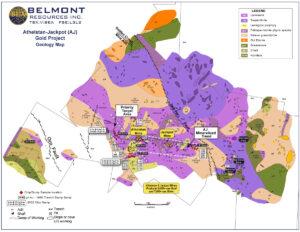 Belmont Resources AJ Property -Geology