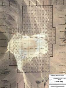 Kibby Basin-claim-map