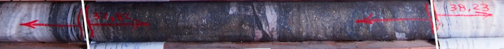 AJ21-03 Drill Core