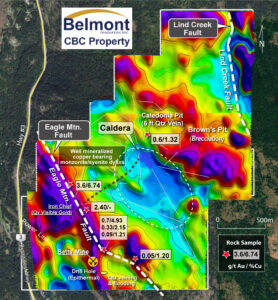 Belmont's Come By Chance Property Map