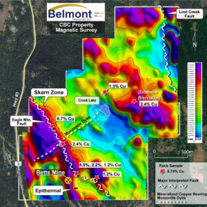 Belmont Come By Chance Magnetic survey